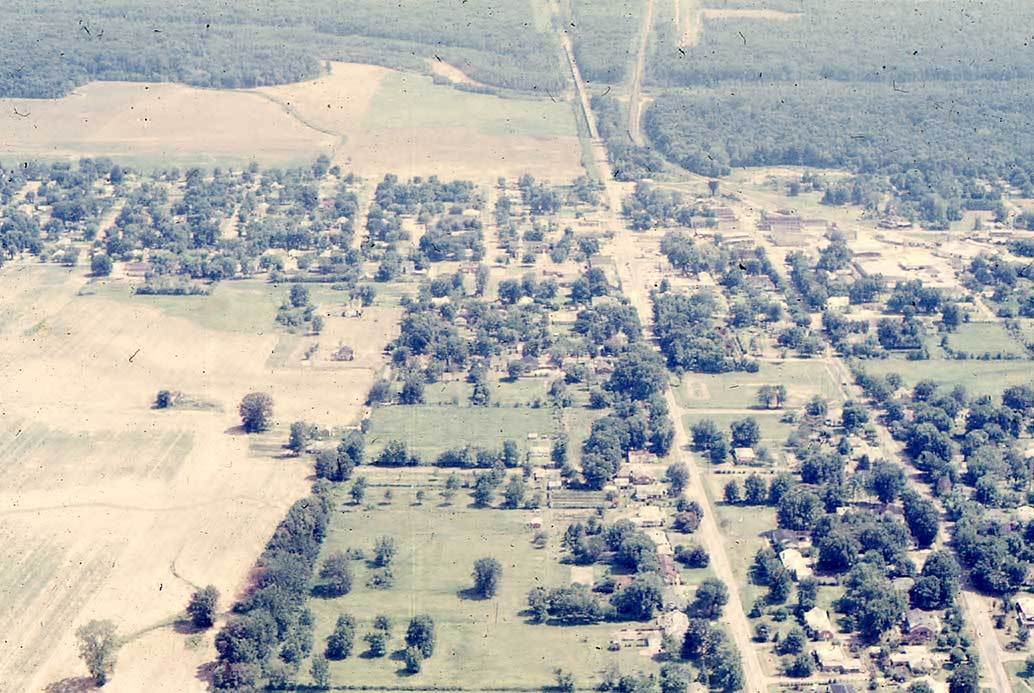 Obion Aerial View 1973