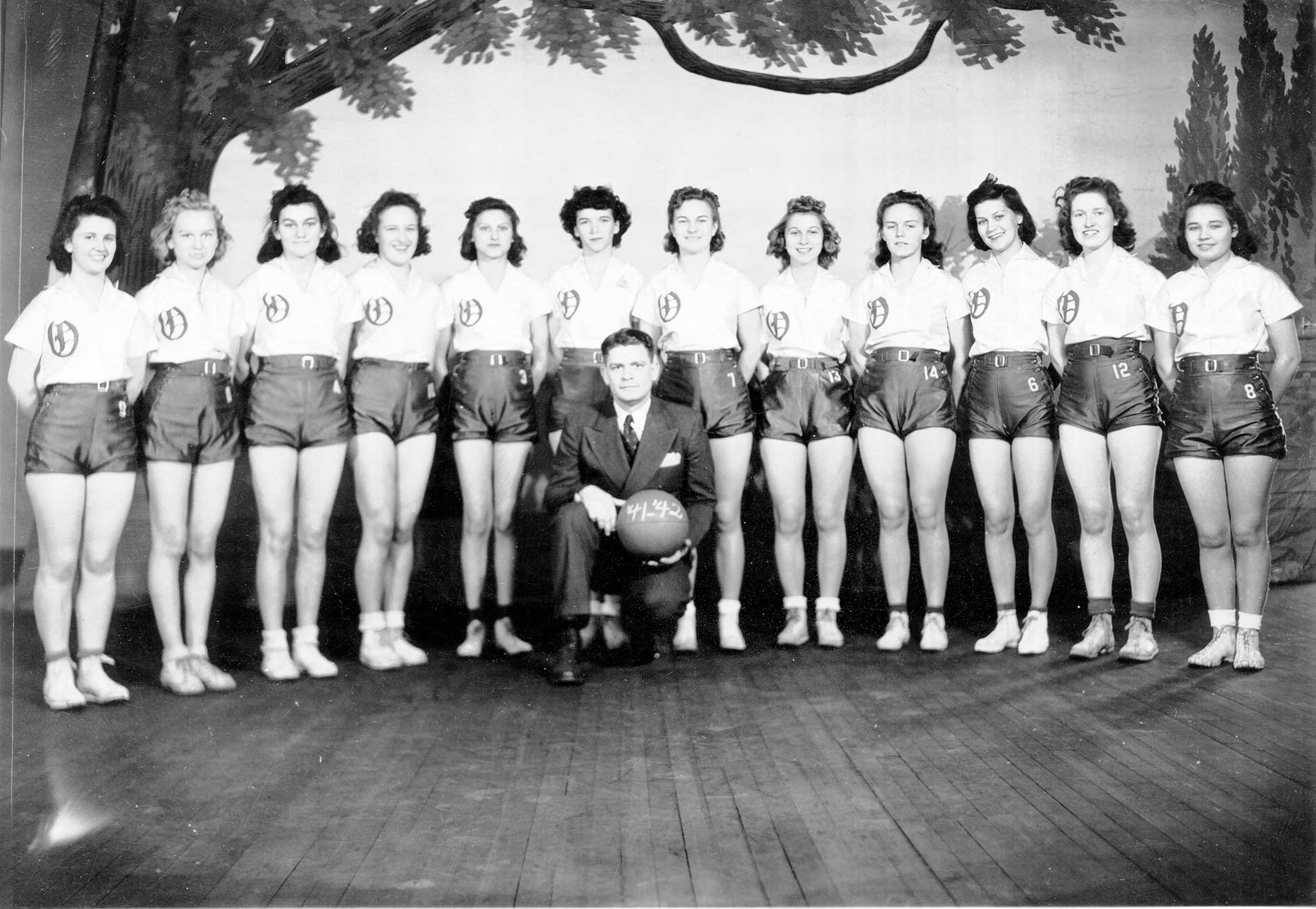 Obion High School Girls' Basketball 1941-42