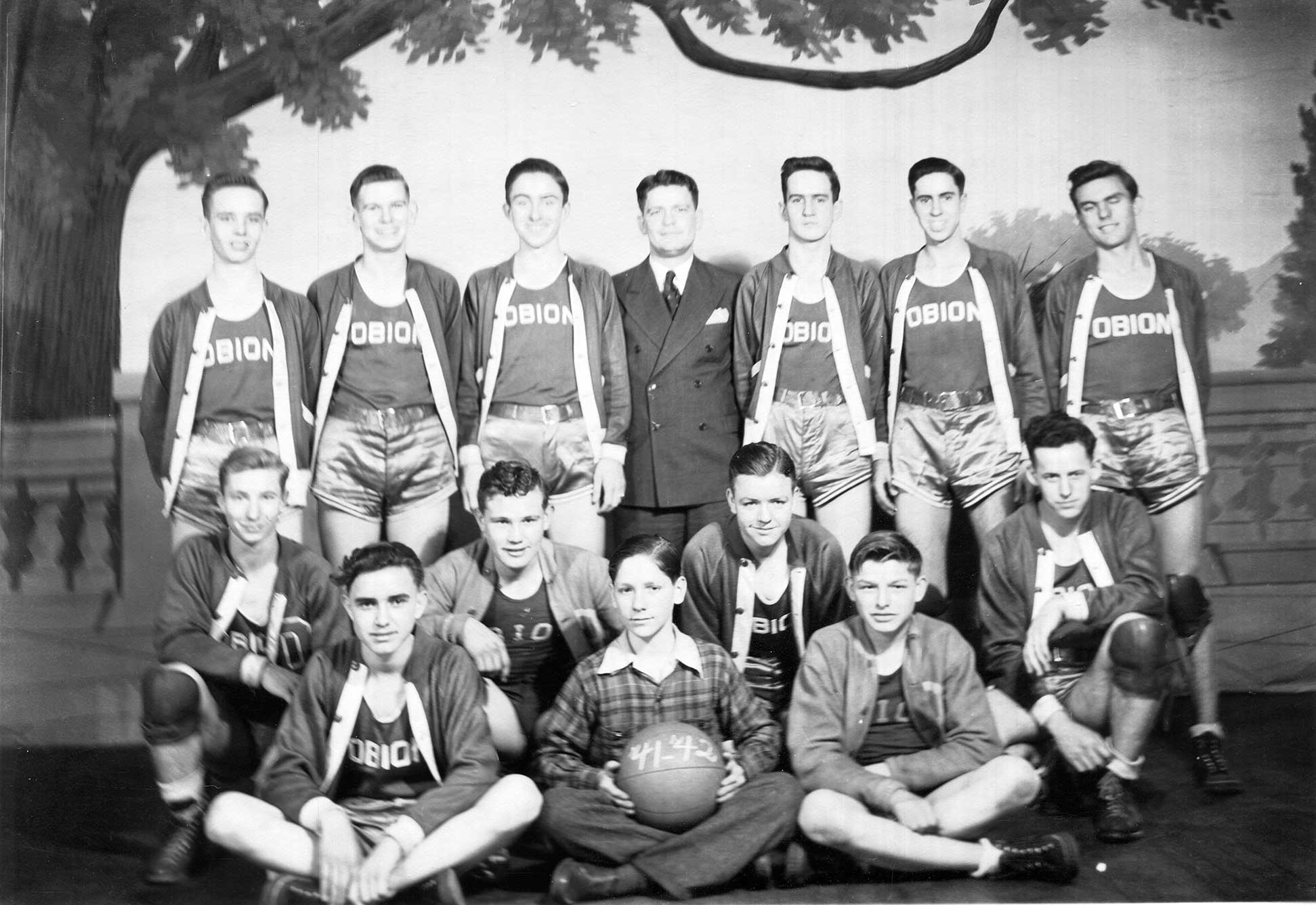 Obion High School Men's Basketball 1941-42