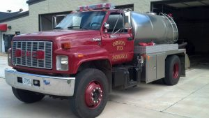 Fire Engine Tanker #1