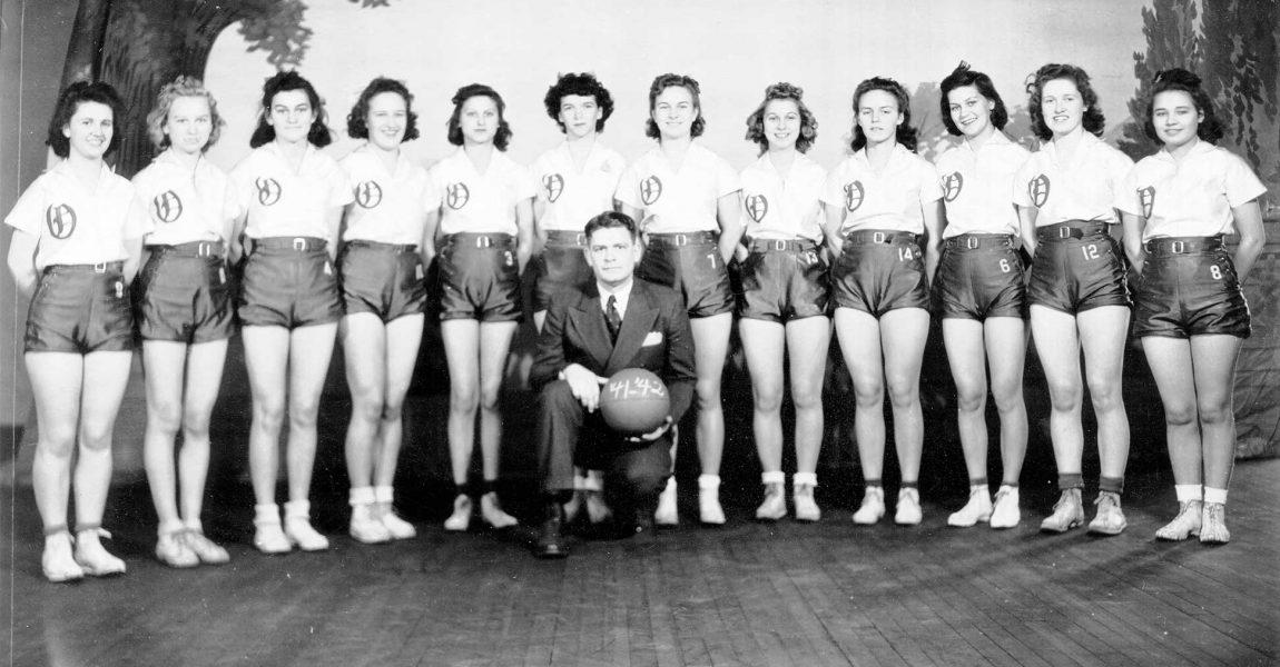 Obion High School Girls' Basketball 1941-42