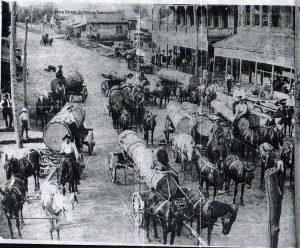 Main Street Obion late 1800s