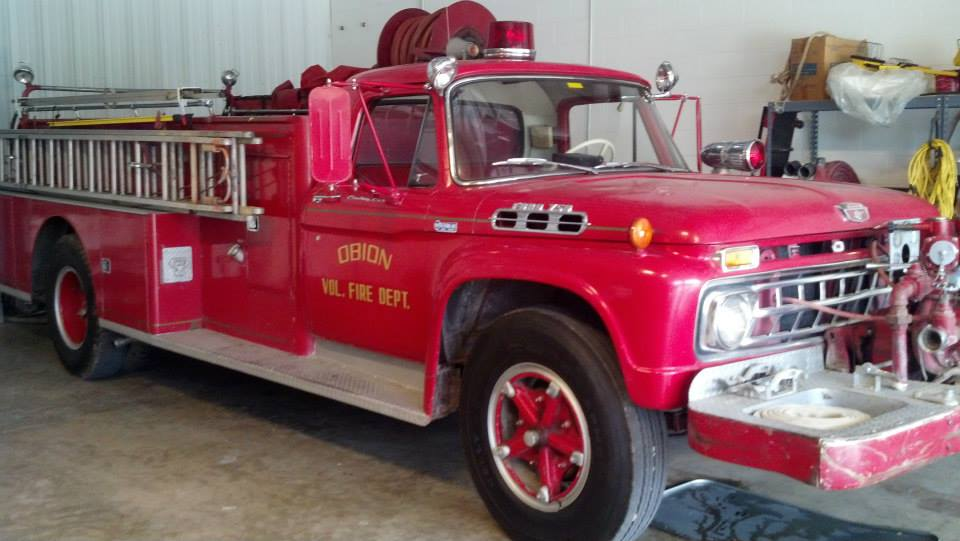 Obion Volunteer Fire Department Truck