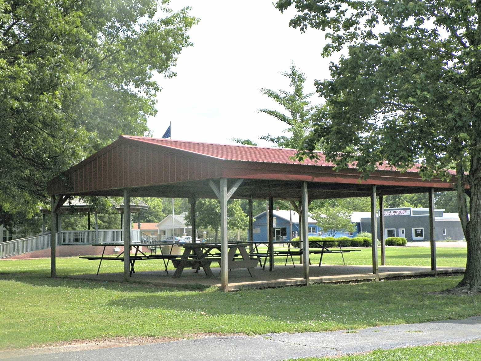 Indian Park - Pavilions