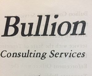 Bullion Consulting Services